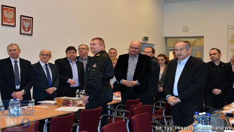 Posiedzenie Mazowieckiej Rady Bezpieczeństwa Ruchu Drogowego